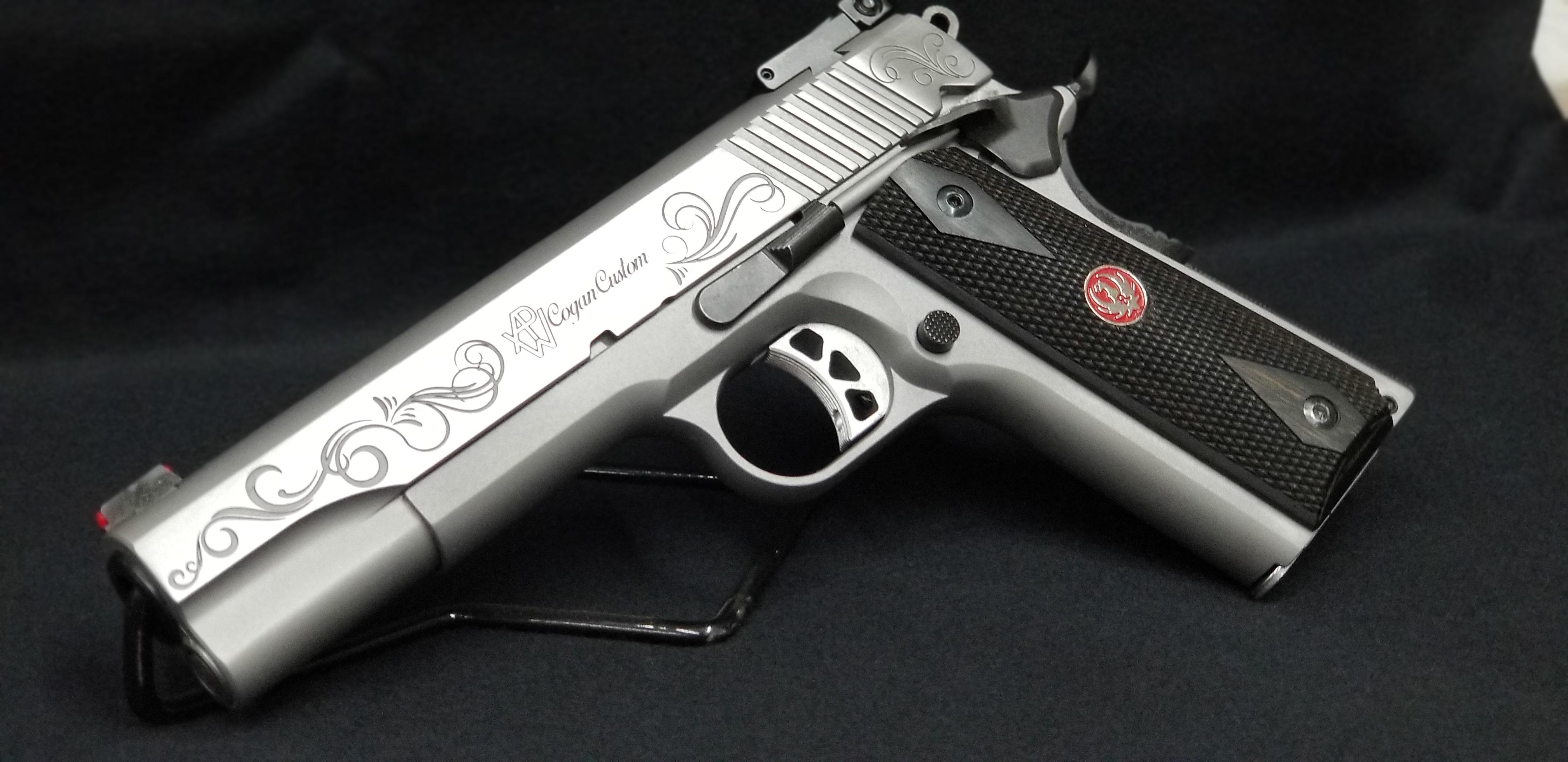 Laser Engraving | APW Cogan Custom